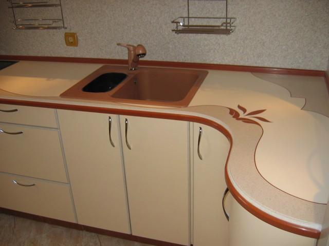 Столешница для кухни своими руками из искусственного камня