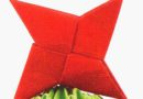 Модульное оригами: парные модули звездочки