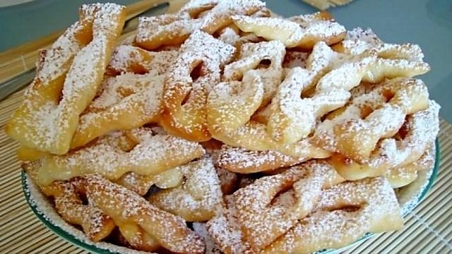 Печенье хворост рецепт с фото