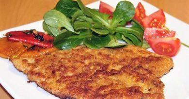 Шницель: простые рецепты с наслаждением вкуса