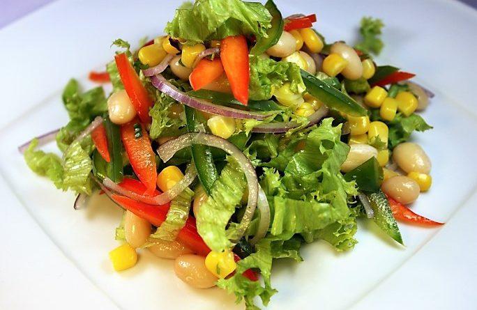 Вкусные постные блюда- салаты