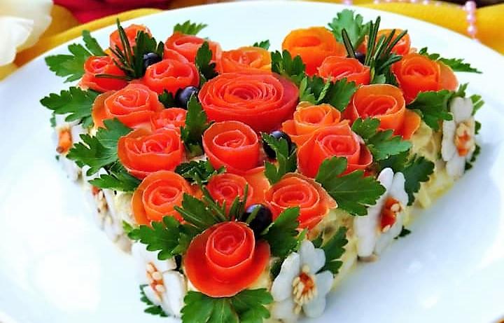 Рецепты кулинара - салаты