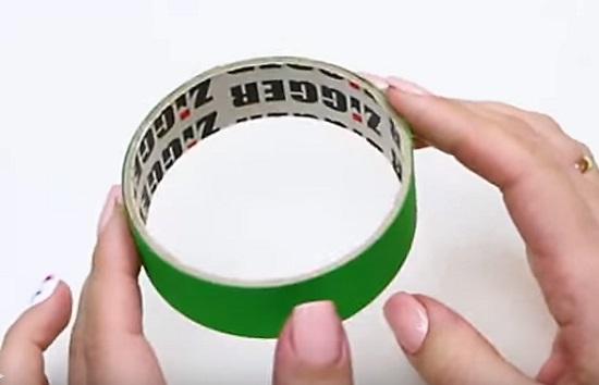 кольцо от скотча
