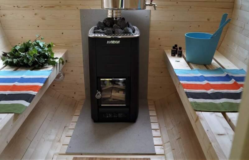 обзор печей на дровах для бани