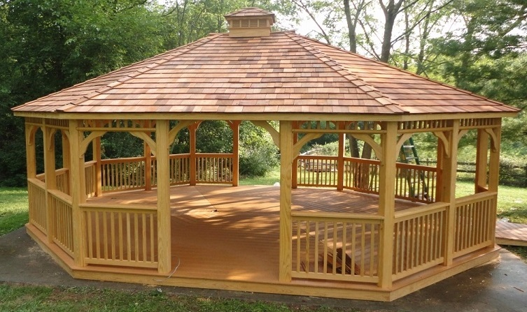 Add Beauty To Your Yard Choosing A Wooden Gazebo Small Gazebo Wooden Gazebo Kits Sale Wooden Gazebo Kits Sale - Gazebo IDeas
