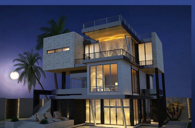 Дом-в-стиле-конструктивизм