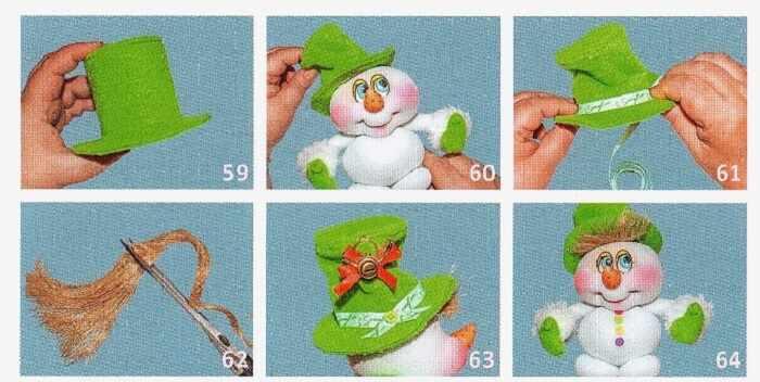 волосы снеговика