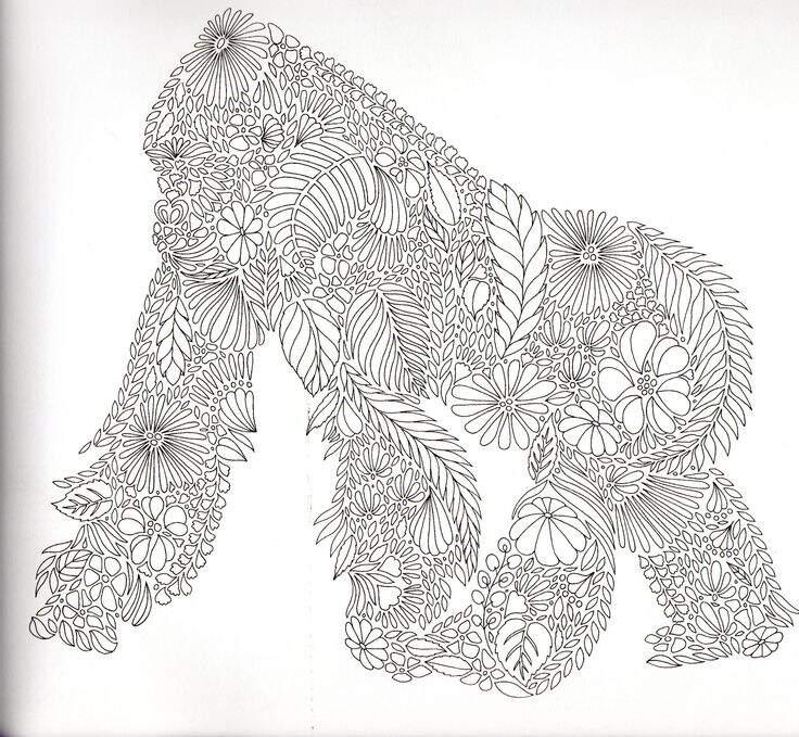 рисунок обезьянки
