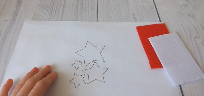шаблон для звезды