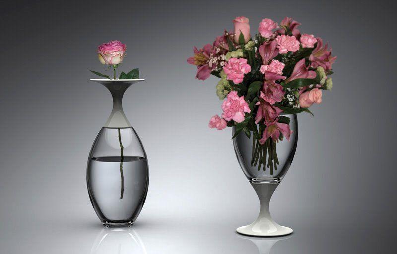 уход за стеклом вазы