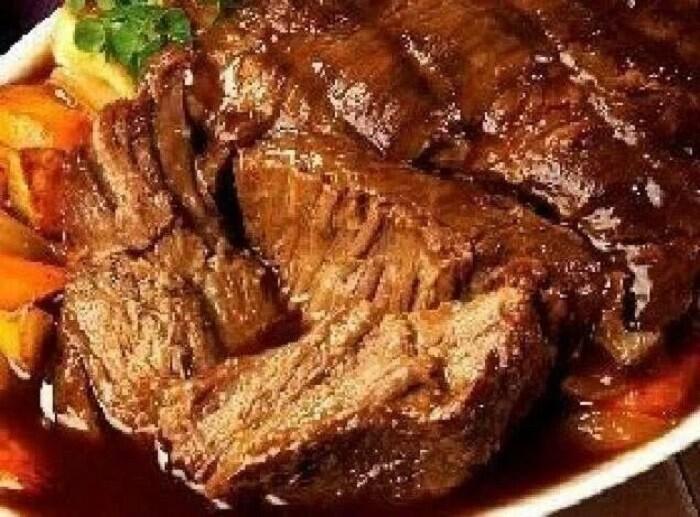 куски мяса по-французски