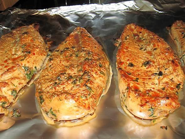Курица в духовке самый простой рецепт 125
