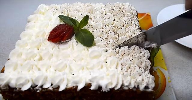 творожный торт готов