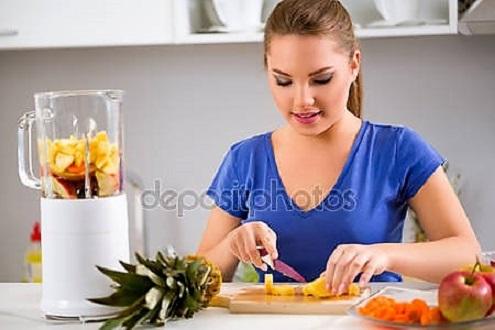 приготовление смузи для женщин