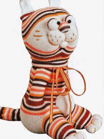 Игрушки тигр сшить