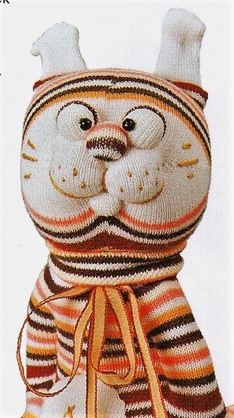 Шитье игрушки Тигр своими руками