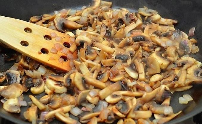 грибы для рецепта жульена
