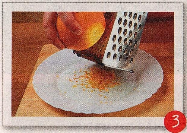Готовим цедру с апельсина