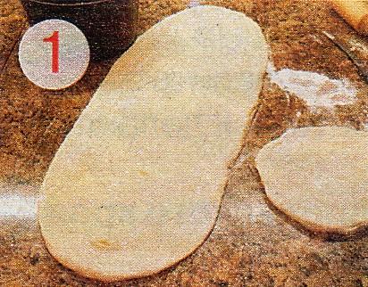 Раскатать тесто