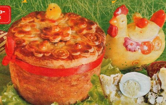 Пирог - Воскресный кулич