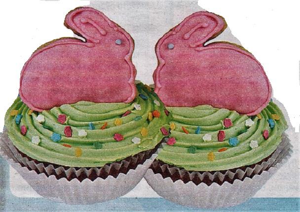 Кексы зайцы