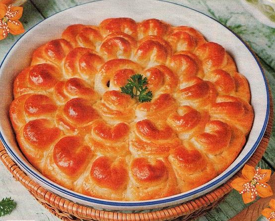 Пироги - Хризантема