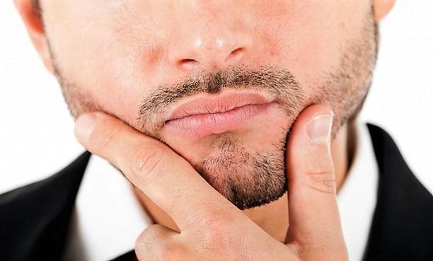 собеседование и губы лица