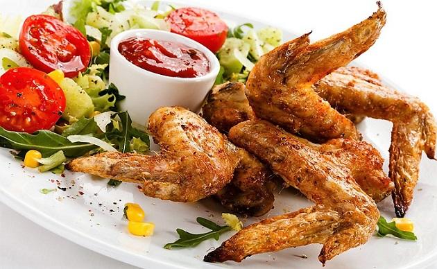 The шашлыка из курицы крылышки для Маринад super slots