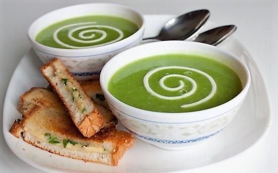 рецепт супа с горошком зеленым