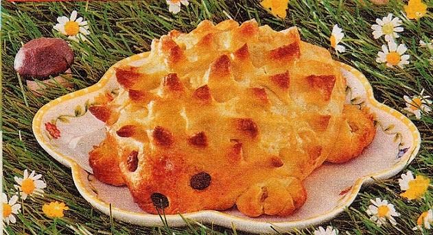 пирожки ежики
