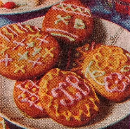 Печенье - Пасхальные яйца