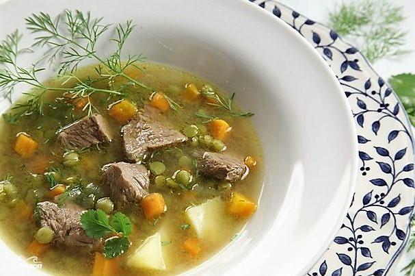 Гороховый суп с мясом