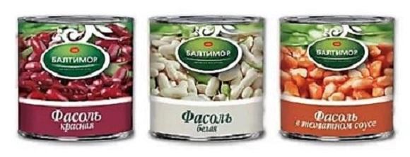 консервированная фасоль для супа минестрон