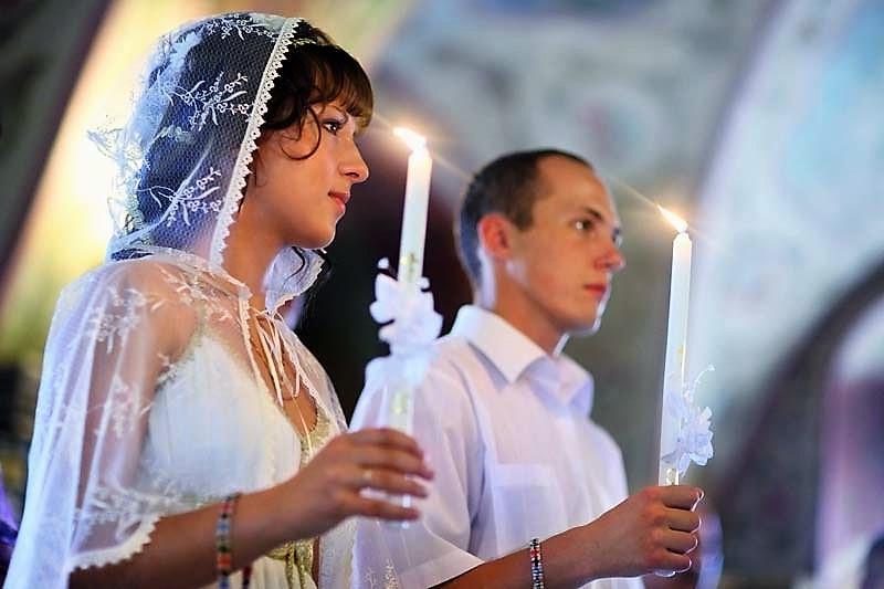 Венчание с церкви