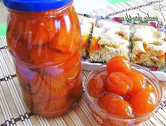 варенье из целых абрикосов