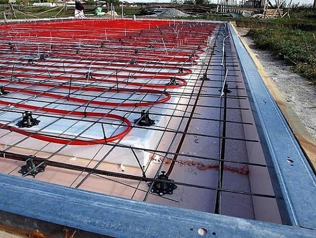 система отопления водяного теплого пола