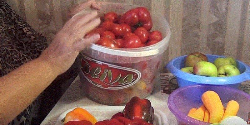 подготовленные овощи для рецепта