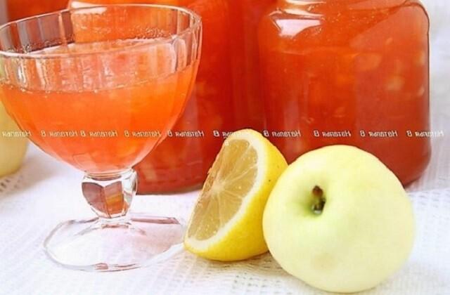 варенье из яблок с лимоном