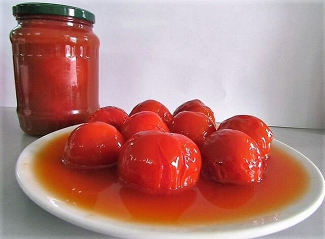 помидоры с соком