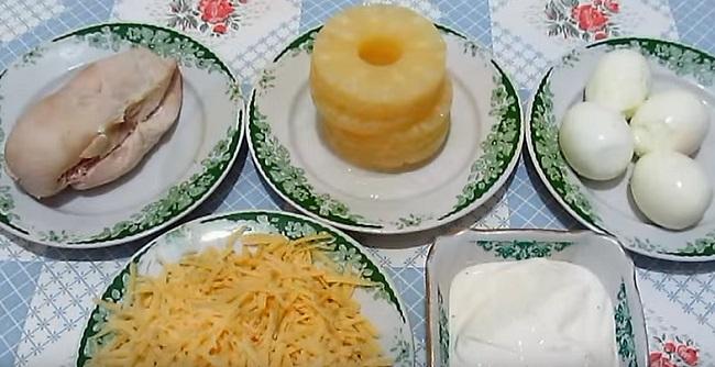 ингредиенты для салата - фото