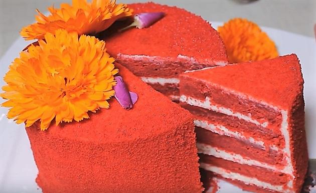 торт Красный Бархат с новым вкусом