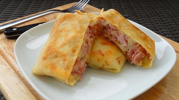 Блинчики с мясом: Вкусные рецепты блинчиков, начиненных мясным фаршем