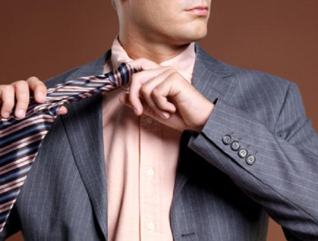 как развязывать галстук