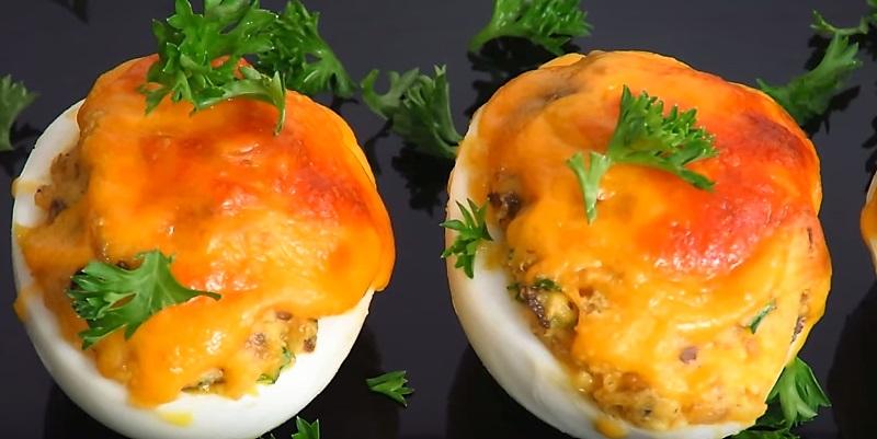 закуски из яиц
