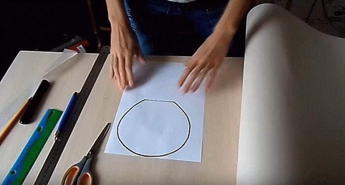 рисунок лепестка
