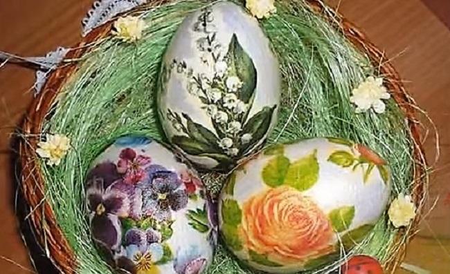 как живопись на яйцах