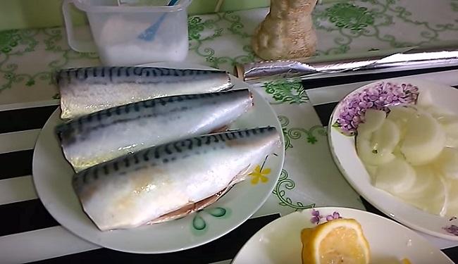 рыба обработанная