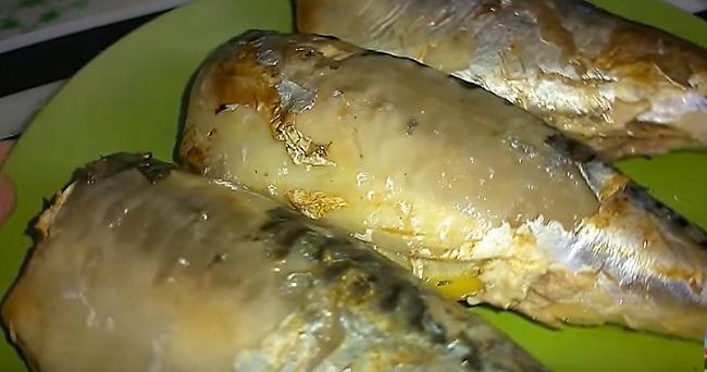 рыба в фольге с лимоном