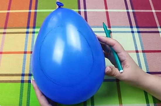 резиновый шар
