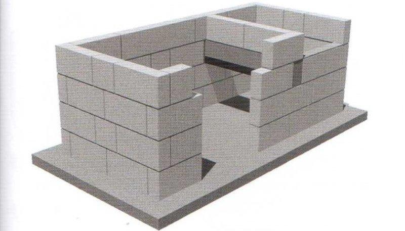 четвертый ряд блоков